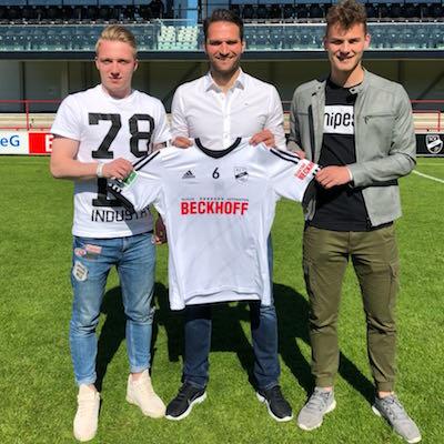 Niklas Sewing wechselt zum Sportclub Verl
