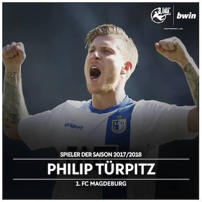 Philip Türpitz ist der Spieler der Saison 17/18