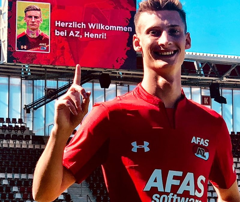 Henri Weigelt wechselt zu AZ Alkmaar