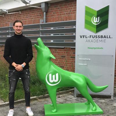 Niclas Müller wird ein Wolf
